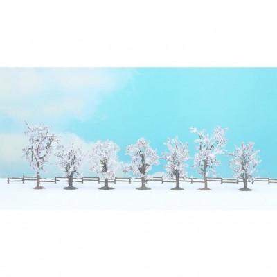 25075 Noch Winterbomen 7 stuks
