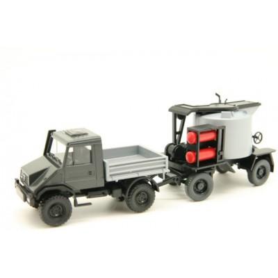 405 02 26 Wiking asfaltkoker met Unimog U 140