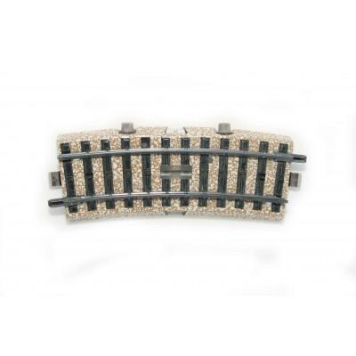 5147 M-rail schakelrail gebogen 1/2
