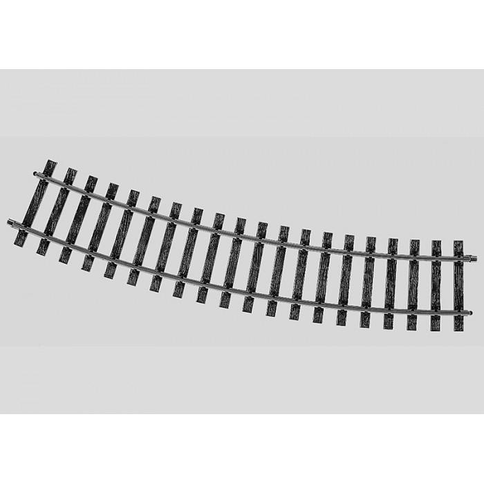 5935 Marklin SPOOR 1 rails Radius 1020 mm. 22°30'