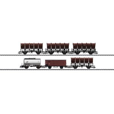 46351 Märklin Set 2 wagens met kiepbakken