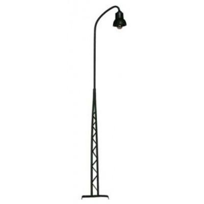 117251 Enkele Vakwerklamp zwart