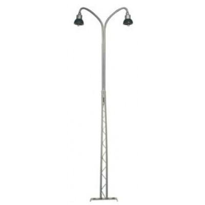 117352 Dubbele Vakwerklamp grijs