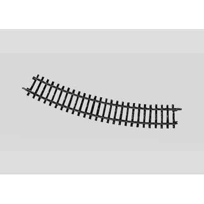 2221 Märklin K-rail Standaardbocht I Gebogen 30°
