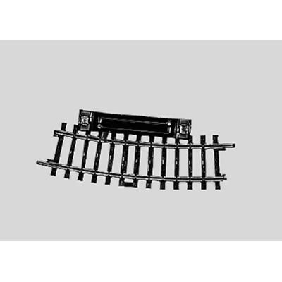 2229 K-rail Schakelrailstuk Gebogen 15°