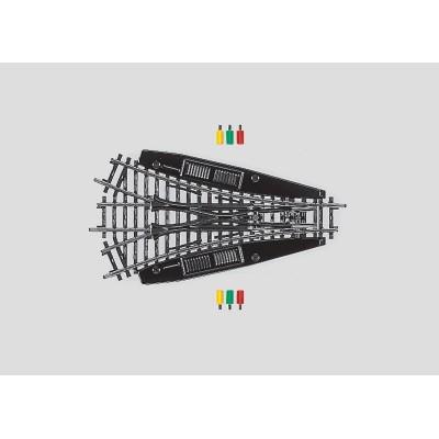 2270 K-rail Symmetrische driewegswissel