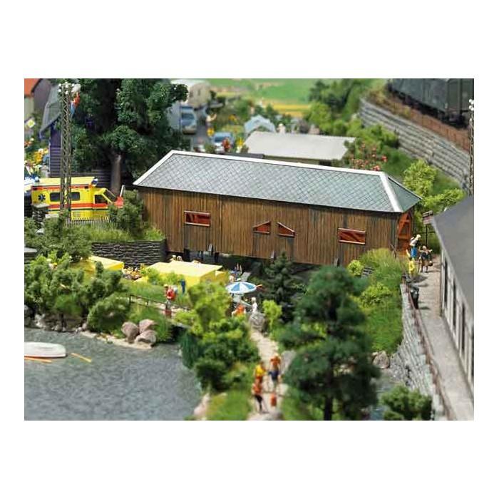 "1420 Busch Overdekte houten brug ""Schwarzenberg"""
