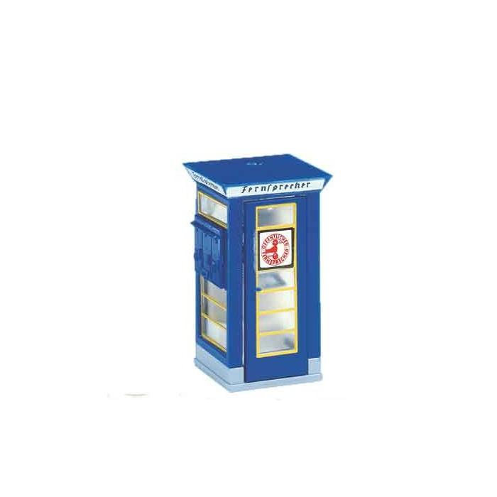 5439 Brawa Telefooncel blauw