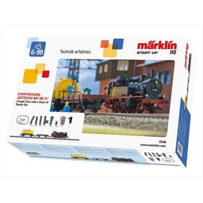 29166 Marklin startset goederentrein serie BR 74