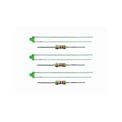 3554 Viessmann 3 LEDs groen