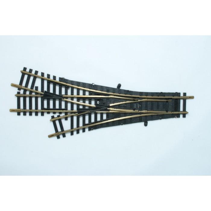 6057 Modelrails Drieweg handwissel