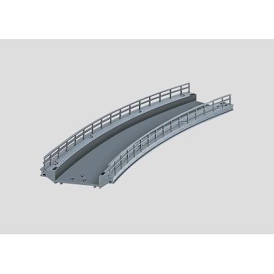 74623 Märklin C-rail Gebogen oprit R2 - 30°