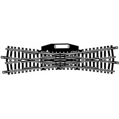 6066 Modelrails Engelse wissel