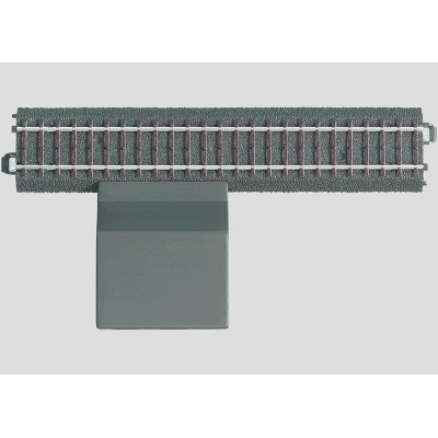 24088 Märklin C-rail rechte aansluitrail 188,3 mm