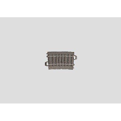 24207 Märklin C-rail bocht R2 437,5 mm / 7,5 graden