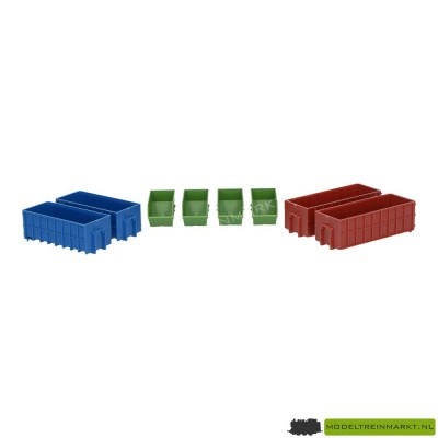 933-3516 Walthers Industriele afvalcontainers