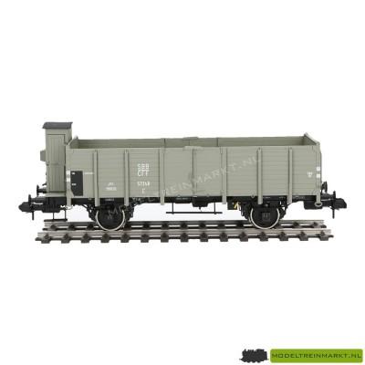 5891 Märklin Hoogboordwagen met remmershuis SBB CFF