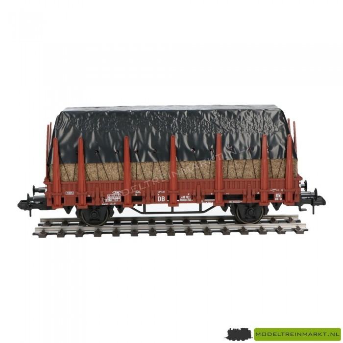 58238 Märklin rongenwagen met stro, afgedekt met zeildoek