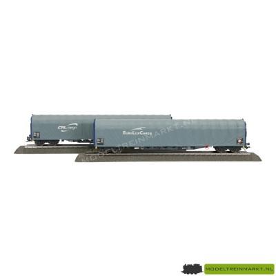 47017 Märklin Set met 2 schuifhuifwagens CFL