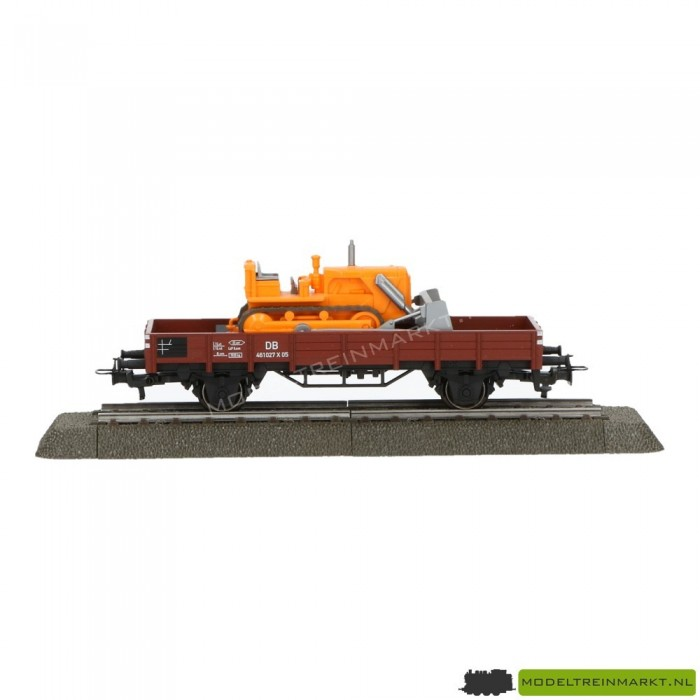 4424 Märklin Goederenwagon lage boord wagon met lading