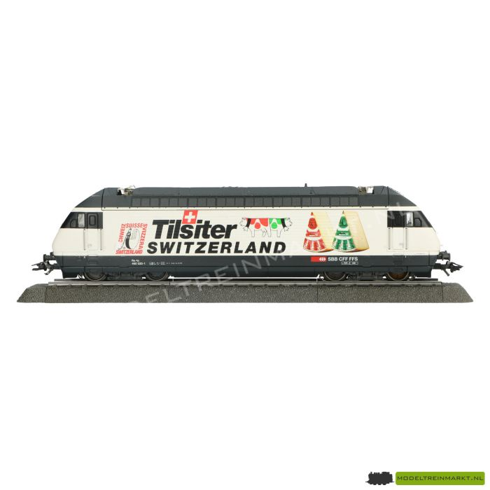 "34613 Marklin - Elektrische Locomotief ""Tilsiter Switzerland"" - Re 4/4 Br 460 - SBB"