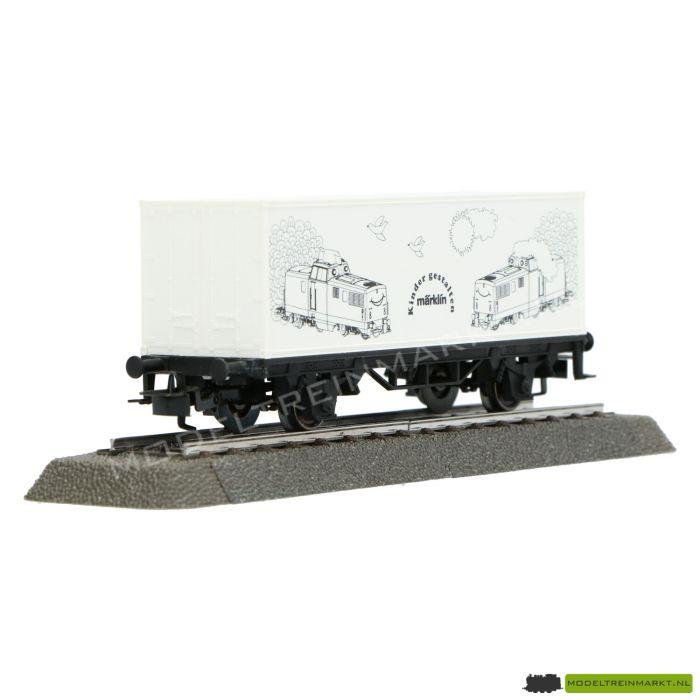94384 Marklin - Container Wagon om zelf te kleuren