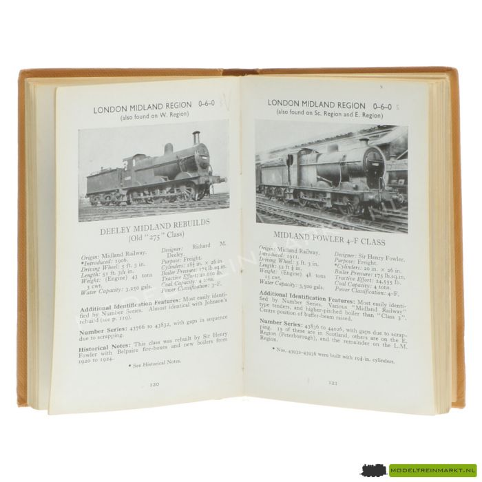 The observer's book of railway locomotives of Britain